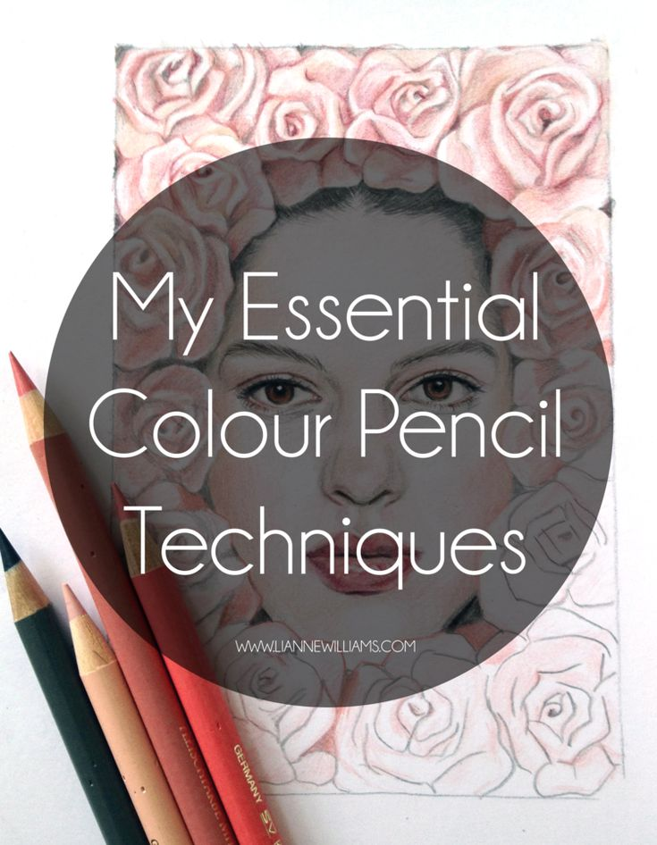my essential colour pencil techniques                                                                                                                                                                                 More