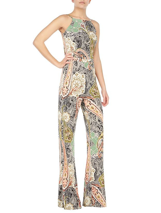 Del Ray jumpsuit #printed jumpsuit