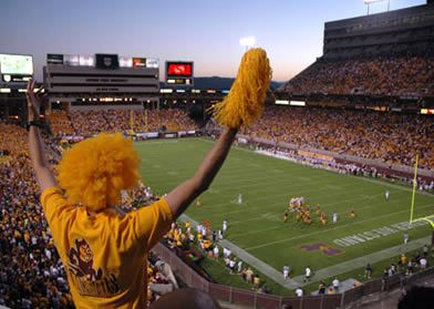 Can't beat the ASU football experience.