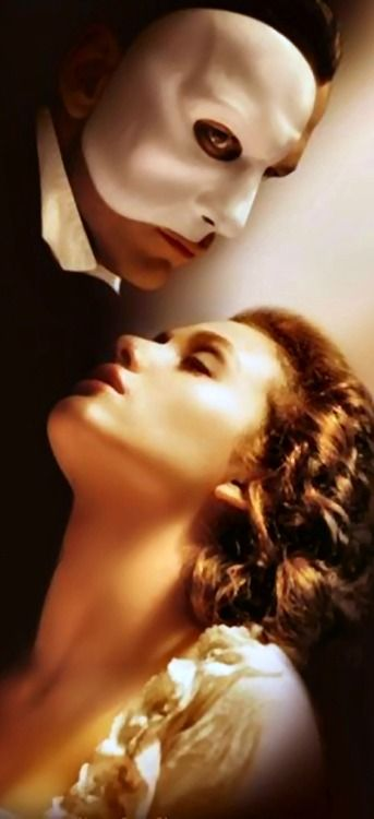 The Phantom of the Opera directed by Joel Schumacher (2004) - Novel by French journalist + author of detective fiction Gaston Leroux (1868-1927) - Book by Andrew Lloyd Webber
