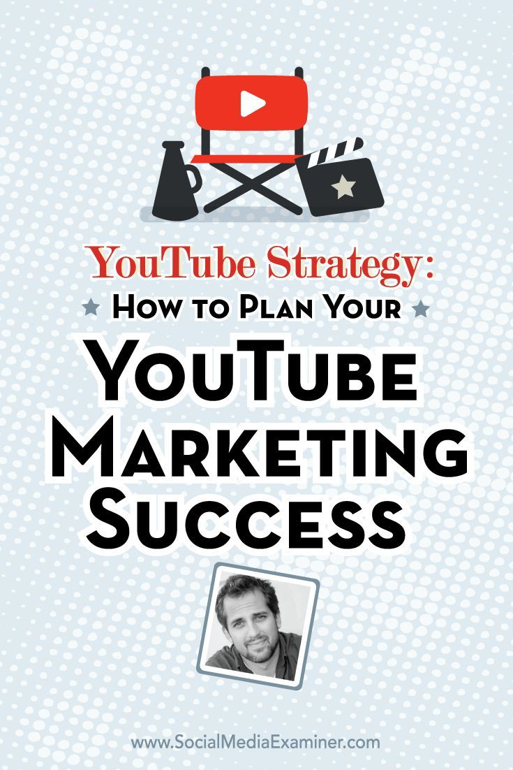 YouTube Strategy: How to Plan Your YouTube Marketing Success - @smexaminer