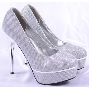 Pantofi de Dama Cinderella Silver