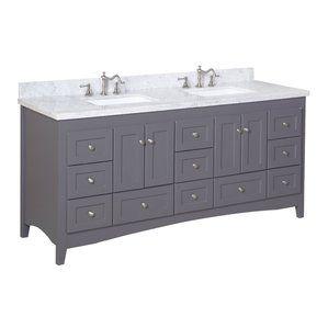 "Abbey 72"" Double Bathroom Vanity Set"