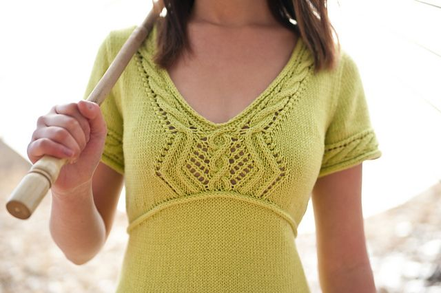 Ravelry: Lizette pattern by Anne Ginger
