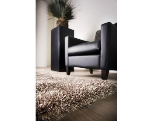 Vloerkleed hoogpolig Sofia bruin 160 x 230 cm kopen bij HORNBACH (brons/bruin/beige)