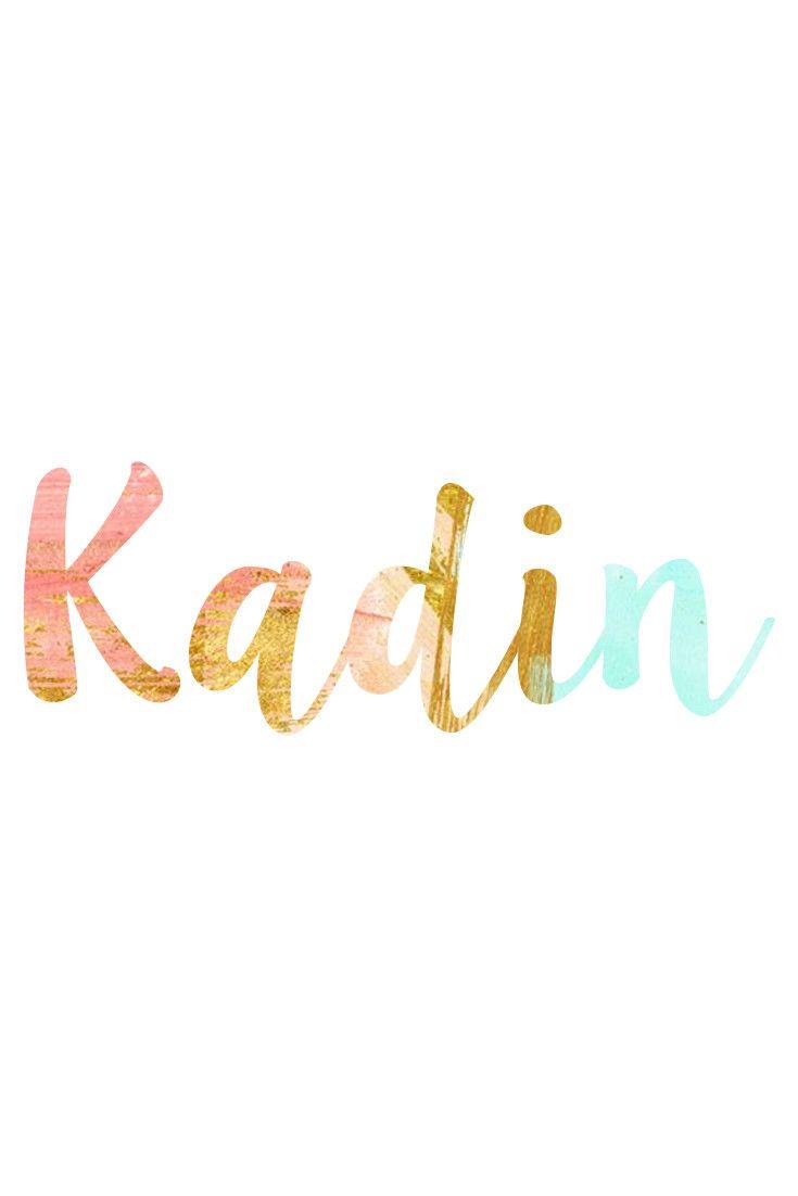 Kadin: Unisex Baby Names I Nameille.com