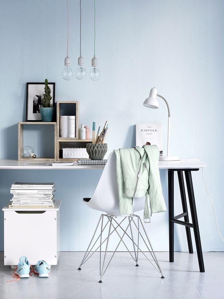 Home office #elloshome #skrivbord #stol
