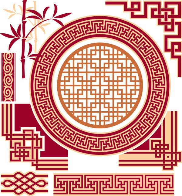 Chinese style decorative elements- these could come in handy! www.luckybamboocrafts.com