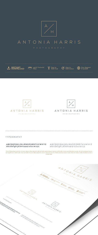 Photography Logo Design. Initials Logo Design. by GraphicFlava
