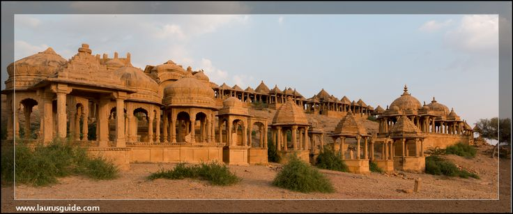 Bada Bagh, also called Barabagh is a garden complex about 6 km north of Jaisalmer on way to Ramgarh, and halfway between Jaisalmer and Lodhruva in the state of Rajasthan in India.