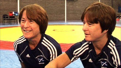 41-year-old Scottish twins Donna and Fiona Robertson have both won Commonwealth Games bronze medals in Judo, (Donna at the 1990 Games in Auckland, New Zealand and Fiona in Manchester, 2002). However, they switched sports in 2007 and are now amongst the favourites to medal in women's wrestling, which debuts in Delhi. Nick Hope reports