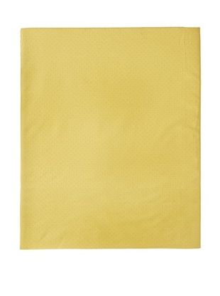 61% OFF Coyuchi Pointille Fitted Sheet (Sunflower)