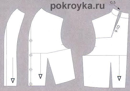 Моделирование воротников-стоекpokroyka.ru-уроки кроя и шитья | pokroyka.ru-уроки кроя и шитья