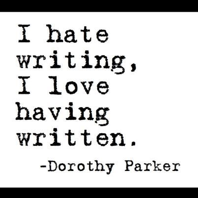Dorothy Parker #quote. This is my email signature.