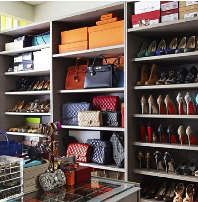 Luxury Closet Organization.