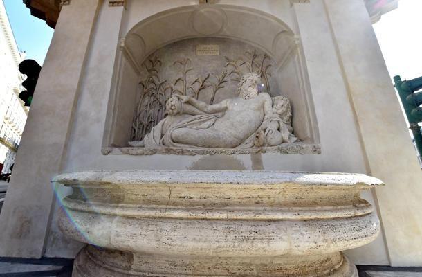 #Roma, tornano a splendere le quattro fontane