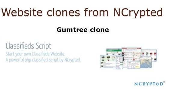 NCrypted Websites provides #customizable as well as #readymade #gumtreeclone - #classified site.
