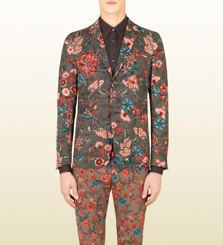 flower print cotton viscose new palma jacket and pants!!