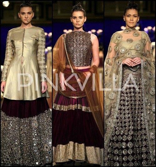Manish Malhotra Collection at India Couture Week 2014 | PINKVILLA