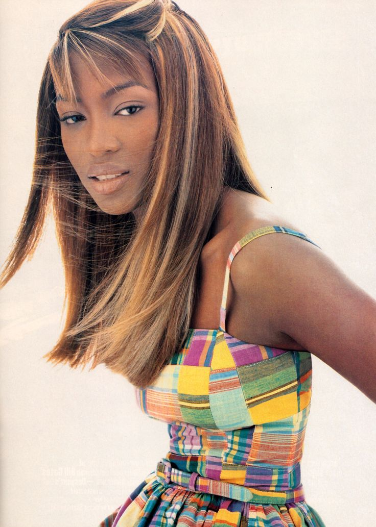 #vintage Naomi Campbell in Isaac Mizrahi photographed by Raymond Meier for Harper's Bazaar December 1995 #90s