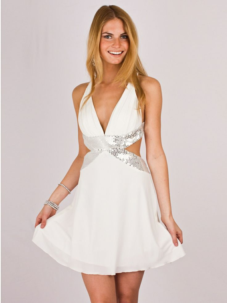 18 best white party dress images on pinterest white for White after wedding party dress