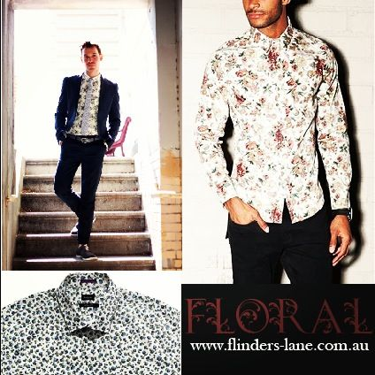Combining timeless and trendy, this liberty floral dress shirt is a wardrobe must this season, Made with 100% luxurious Cotton, it features a contrasting gingham print collar and cuff, oozing contemporary elegance for the modern man #flinderslane #floral #shirt #classic #mensfashion #ootd #style #bestoftheday #onlineshop #davidjones www.flinders-lane.com.au
