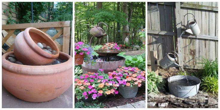 7 Backyard Fountains You Can Make Yourself  - CountryLiving.com