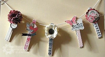 Pretty Bliss Pins....Crafty Girl
