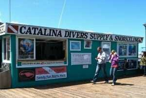 Catalina Divers Supply at the pier