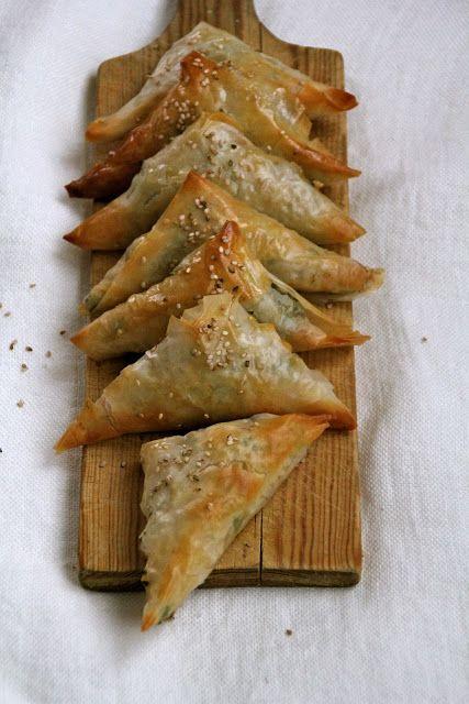 Indiske Samosas - Mat på bordet