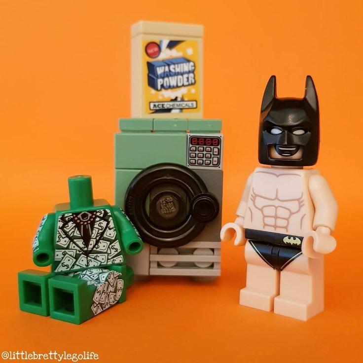 Money Laundering. #lego #legominifigures #legostagram #instalego #legophotography #toystagram #toys #toyart #vitruvianbrix #bricknetwork #brickcentral #afol #minifig #minifigures #legogram #lego_hub #legos #toygroup_alliance #toyartistry_lego #legolife #legophoto #brickculture #brickpichub #legoart #legomania #batman #money #laundry #superheroes #dccomics