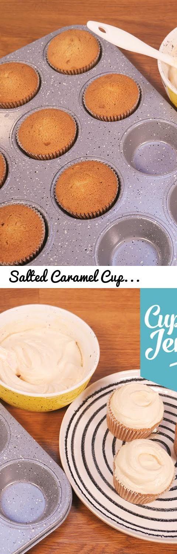 Salted Caramel Cupcake Sponge Recipe | Cupcake Jemma... Tags: cupcakes, cup cakes, cupcake jemma, jemma wilson, crumbs & doilies, baking, salted caramel, caramel, brown sugar, sponge, cake, home made, home baked, buttercream, frosting, frosting