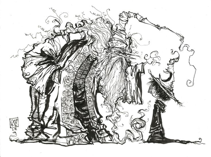 Harry Potter Sorting Hat Sketch from Skottie Young - News - GeekTyrant