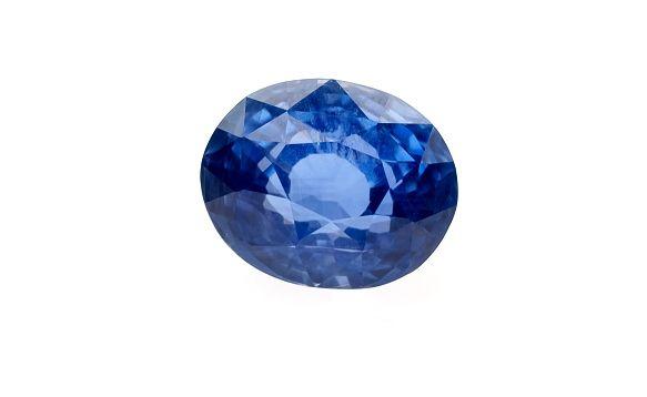 safír 3.18ct blue (tepelně neupraven) s GIA certifikátem | Drahokamy a polodrahokamy | VVDiamonds - Prodej pravých přírodních diamantů