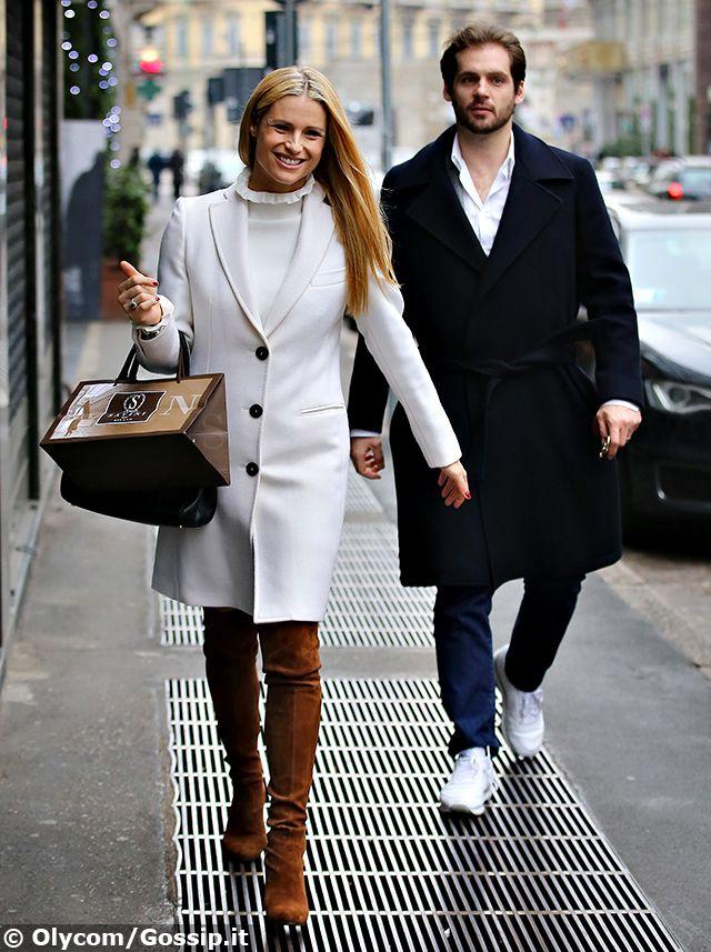 Michelle Hunziker e Tomaso Trussardi, paparazzati a Milano nel giorno del compleanno di Aurora: erano a caccia del suo regalo?
