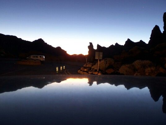 Teide sunset tenerife beautiful travel