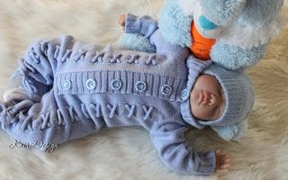 Kairi Design beebikombekad: Baby knitted jumpsuit in Etsy