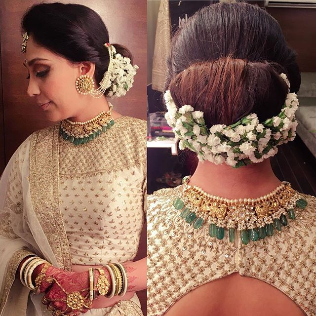 Wedding Hairstyle Gajra: 36 Best Gajra Images On Pinterest