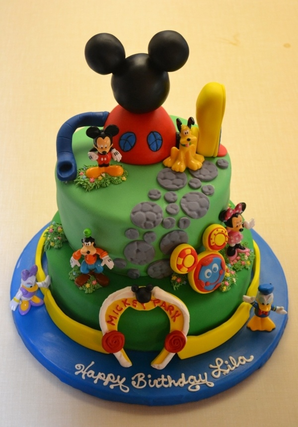 Cake - Mickey Mouse Clubhouse. My sons favorite show! Wish his birthday didn't already pass