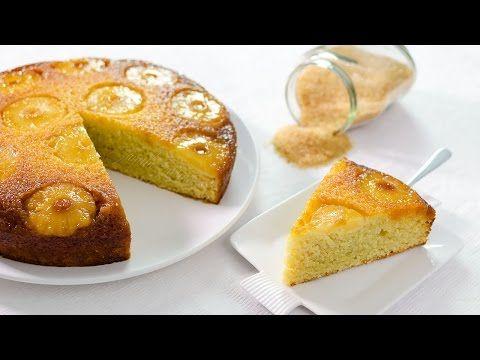 Prajitura rasturnata cu ananas - reteta video   JamilaCuisine