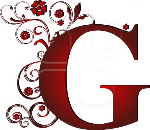 capital letter G red, abstract, alphabet, alphabetic