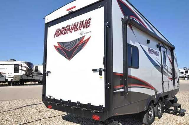 2016 New Coachmen Adrenaline Toy Hauler 19CB W/4KW Gen & 1 Travel Trailer in Texas TX.Recreational Vehicle, rv, 2016 Coachmen Adrenaline Toy Hauler 19CB W/4KW Gen & 15.0 BTU A/C, The Largest 911 Emergency Inventory Reduction Sale in MHSRV History is Going on NOW! Over 1000 RVs to Choose From at 1 Location!! Offer Ends Feb. 29th, 2016. Sale Price available at or call 800-335-6054. You'll be glad you did! *** Family Owned & Operated. Largest Selection, Lowest Prices & the Premier Service…