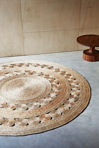 Armadillo and Co Flower Weave - Natural Dandelion Rug