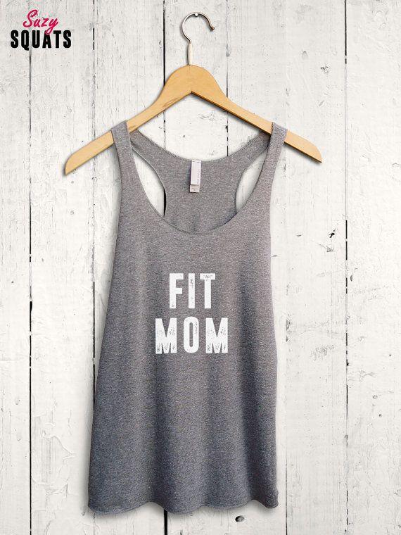 Fit Mom Tank Top, Womens Fitness Tank Top, Gym Tank Top, Womens Tank Top, Mom Shirt, Womens Gym Shirt, Funny Mom Shirt, Mom Bod