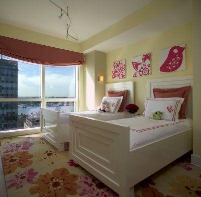 upper west side girls room modern kids new york evelyn benatar new york interior design