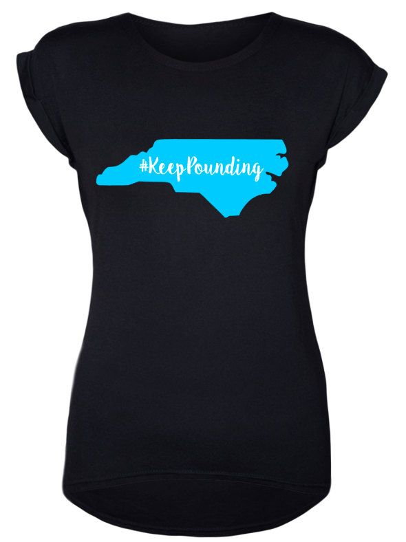 Keep Pounding // Carolina Panthers // North Carolina // Home Tee by DivaDesignsByDesirae on Etsy