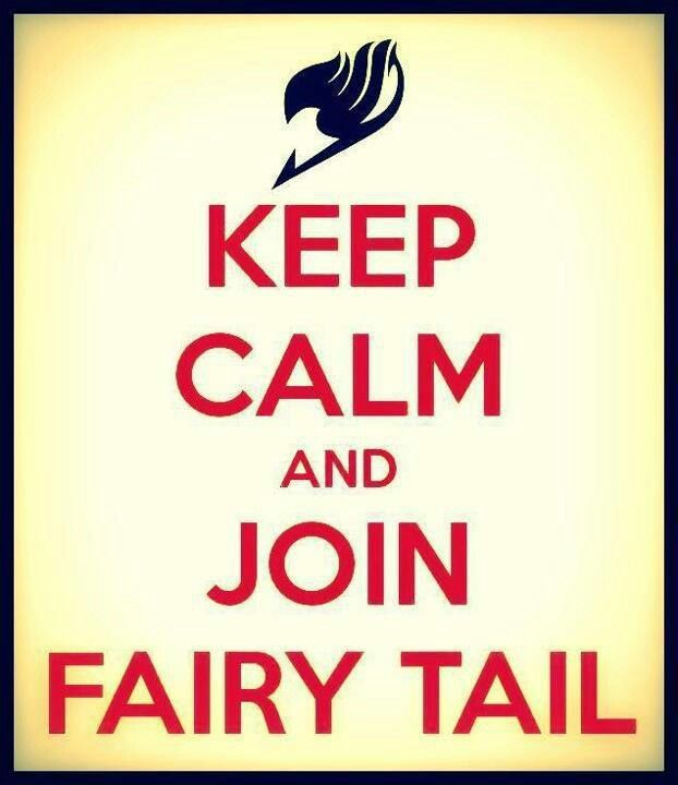 I VOLUNTEER TO JOIN FAIRY TAIL!!!