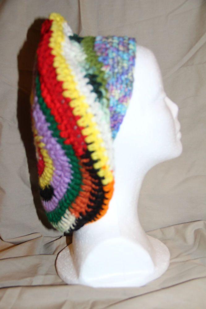Team Sports Unisex Crochet Chemo Slouchy cap Multiple Colors Reggae theme  #homemadehandcrochetedinUSA #BeanieSlouchyCap