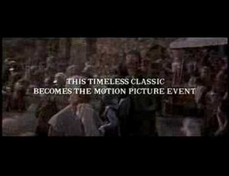 Les Miserables (1998)   Movie Trailer starring Liam Neeson (Valjean), Geoffrey Rush (Javert) , Uma Thurman (Fantine) and Claire Danes (Cosette).