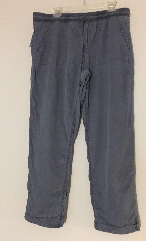 b65164148da Calvin Klein Pants XL Blue Elastic Waist Casual Lyocell 16  CalvinKlein   CasualPants